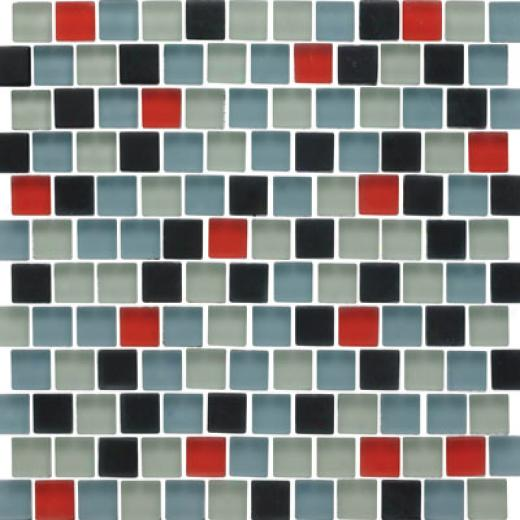 Original Style Offset Sky Mixed Frosted Mosaic Donegal Tilr & Stone