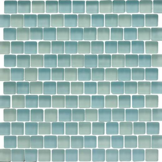 Original Style Offset Sky Mixed Frosted Mosaic Berents Tile & Stone