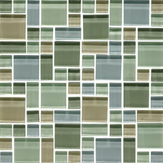 Original Style Random Pattern Clear Mixed Mosaic Chapala Tile & Stone