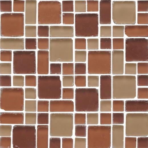 Original Style Random Pattern Frosted Tumbled Mixed Mosaic Tanganyika Tile & Stone