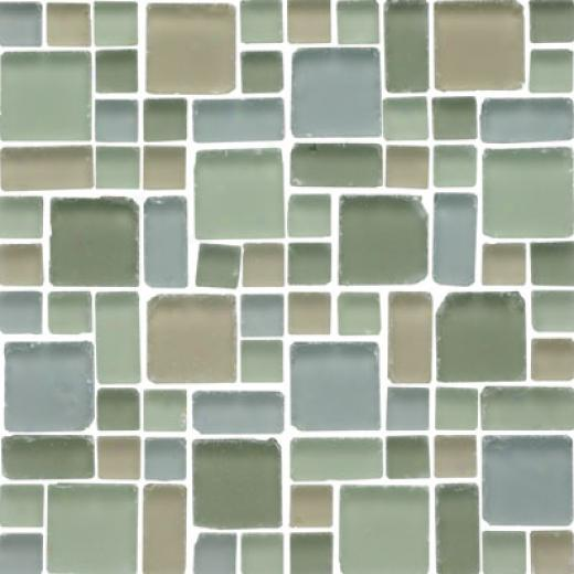 Original Style Random Pattern Frosted Tumbled Mixed Mosaic Chapala Tile & Stone