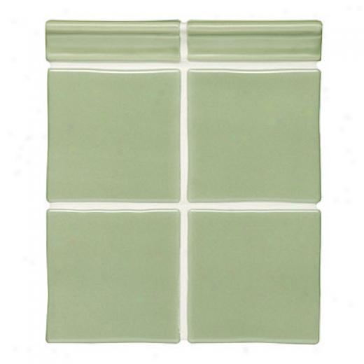 Original Style Satin Tiles 4 X 4 Lichen Tile & Stone
