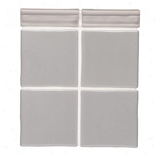 Original Style Satin Tiles 4 X 4 Storm Tile & Adamant