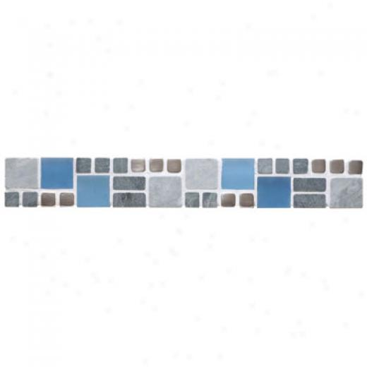 Original Styl3 Stone, Glass & Metal Borders Yuma Honed Tile & Stone