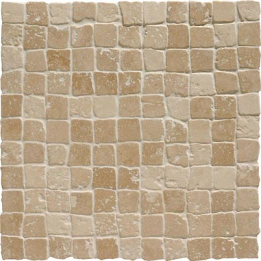 Original Style Venetian Mosaic 7/8 Noce Chipped Edge Tile & Stone
