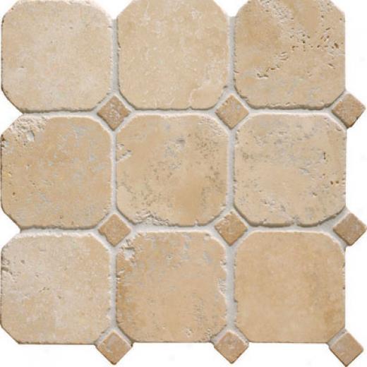 Original Style Venetian Offset Square Mosaic Giallo Tile & Stone
