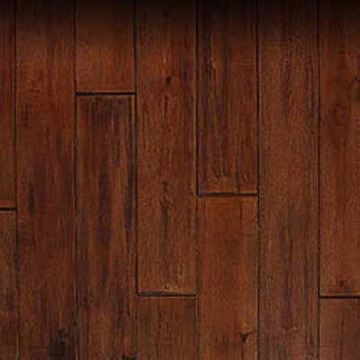 Patina Floors Relics Hand Scraped Nutmeg Maple HardwoodF looring