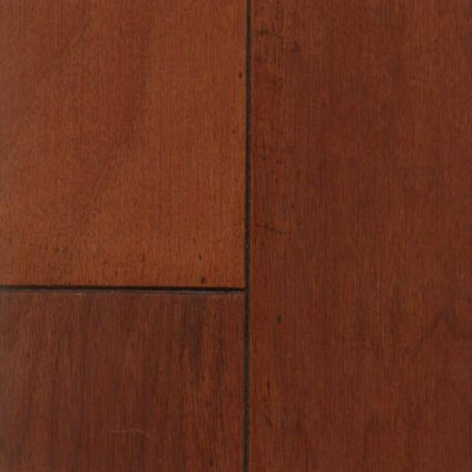 Patina Floors Relics Sculpted Spice Cherry Hardwood Flooring