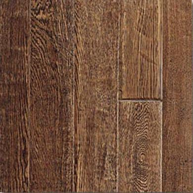 Pinnacle Forest Glen Classics Hand Scraped Solid Oak Smoked Hardwood Flooring