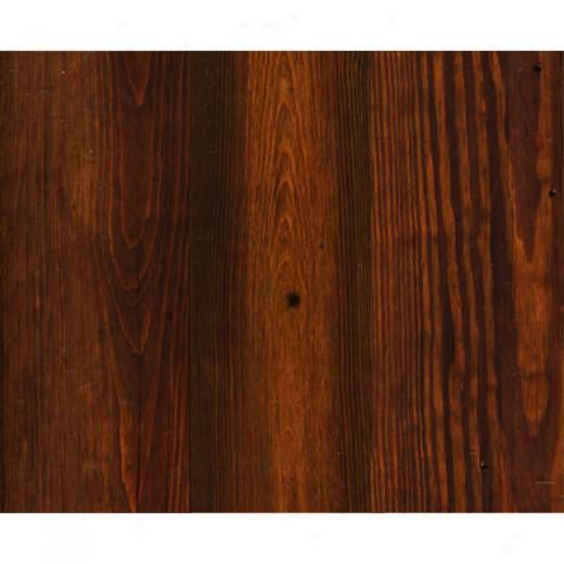 Piondered Wood Antique Heart Pine Engineered 5 Smooth Aged Brown Hardwood Flloring