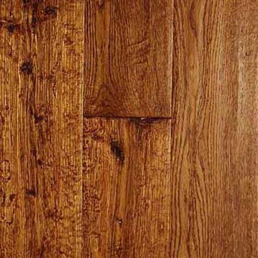 Pioneered Wood Hand-scraped White Oak White Oak Harvest Hardwood Flooring