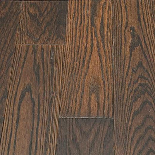 Preverco Wirescraped Red Oak Madagascar Hardwood Flooring