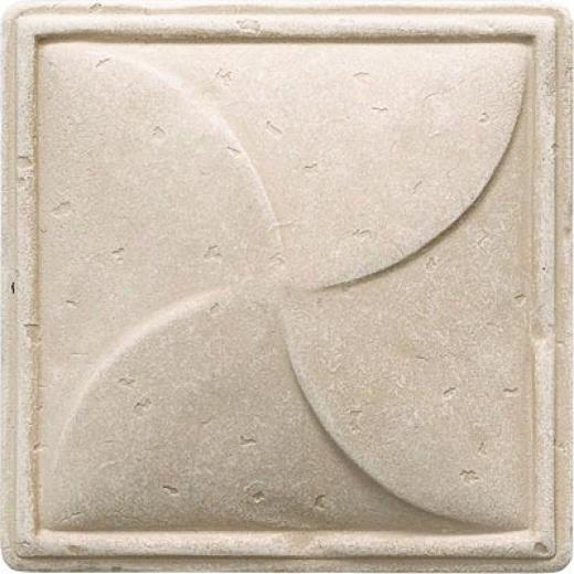 uQestech Dorset Classics - Travertine Pinwheel Deco Tile & Stone