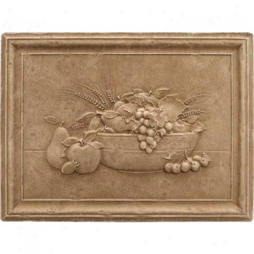 Questech Dorset Decoratives - Noche Fruit Bowl Mural Tile & Stone