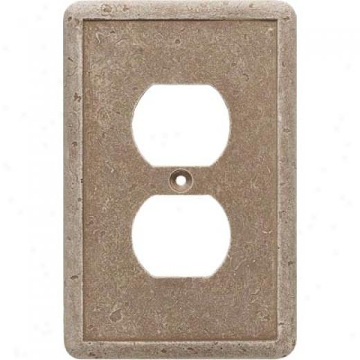 Questech Dorset Rod Plates - Noche Single Duplex Tile & Stone