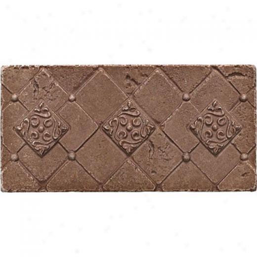 Questech Stone Shadow Brick 3x 6 Doric Noche Tile & Stone