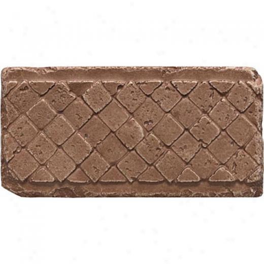 Questech Stone Shadow Brick 3x 6 Mosaic Noche Tile & Stone