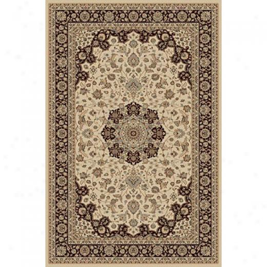 Radici Usa Biltmore Iii 5 X 8 Light Ivory Area Rugs