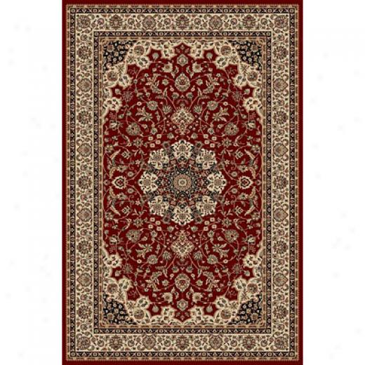 Radlci Usa Biltmore Iii 8 X 10 Red Area Rugs