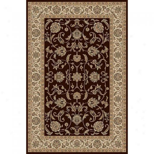 Radici Usa Biltmore Iv 5 X 8 Brown Area Rugs