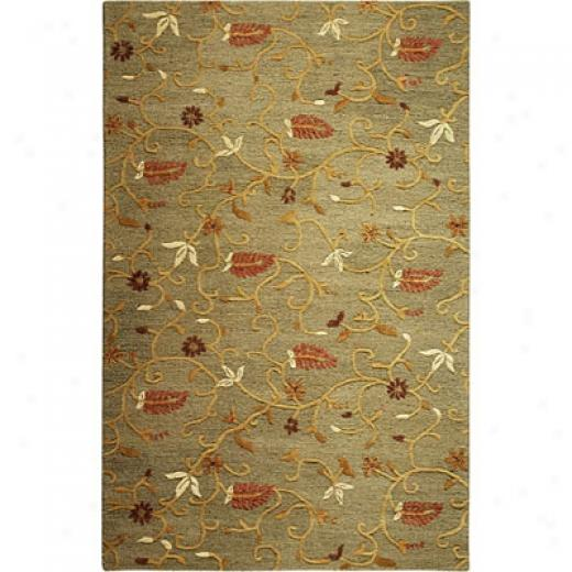 Radici Usa Brilliance 3 X 5 Olive Area Rugs