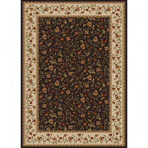 Radici Usa Como Iii 8 X 11 Charcoal Area Rugs