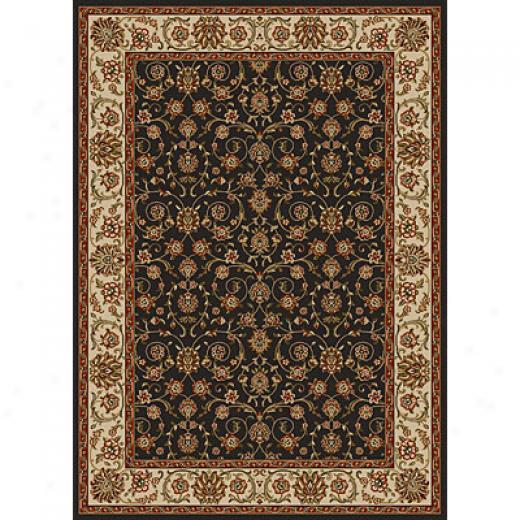 Radici Usa Como Vii 10 X 13 Charcoal Area Rugs