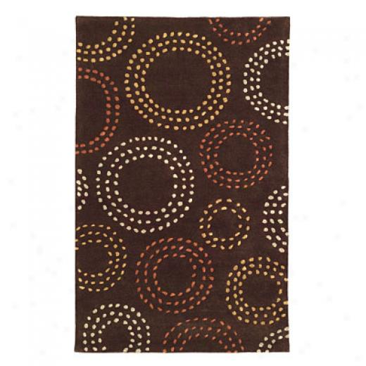 Radici Usa Elegance 5 X 8 Hazelnut Area Rugs