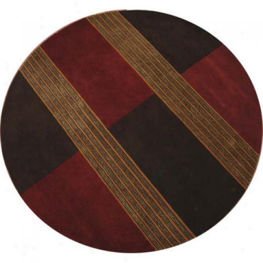 Radici Usa Elegance 8 Round Cappuccino Area Rugs