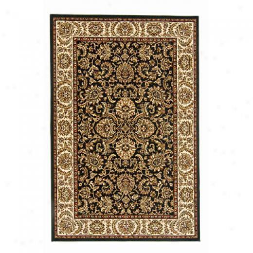 Radici Usa Noble Ii 10 X 13 Black Area Rugs