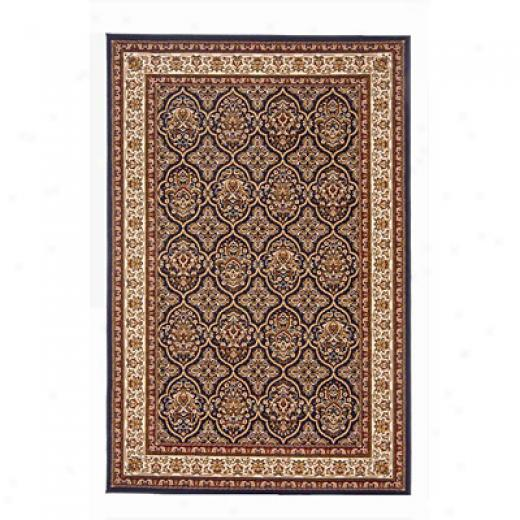 Radici Usa Noble V 10 X 13 Navy Area Rugs