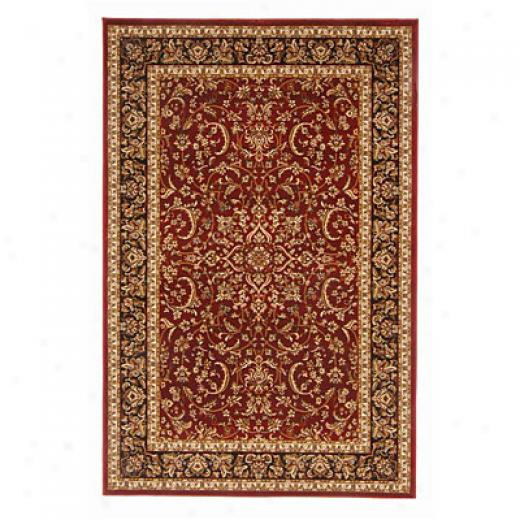 Radici Usa Noble Vi 10 X 13 Burgundy Area Rugs