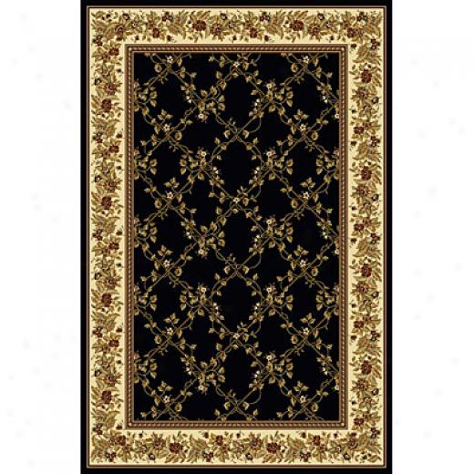 Radici Usa Great Vii 8 X 10 Blaco Area Rugs