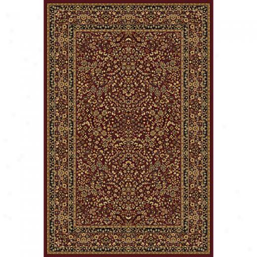 Radici Usa Plaza Vi 2 X 8 Runner Burgundy Area Rugs