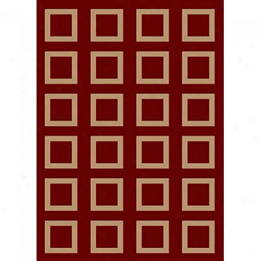 Radici Usa Sofia Iii 8 X 10 Red Area Rugs