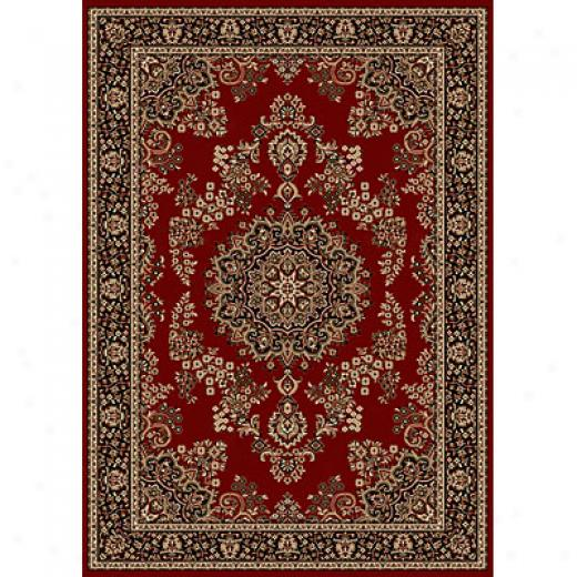 Raidci Usa Sofia X 8 X 10 Red Area Rugs