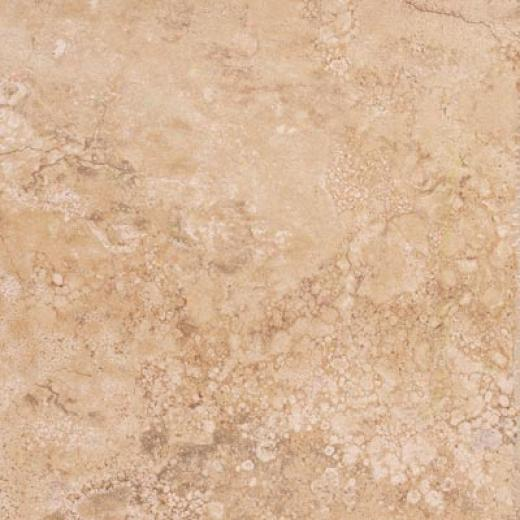 Tesoro Travertino Fiorito 6 X 6 Gold Tile & Stone