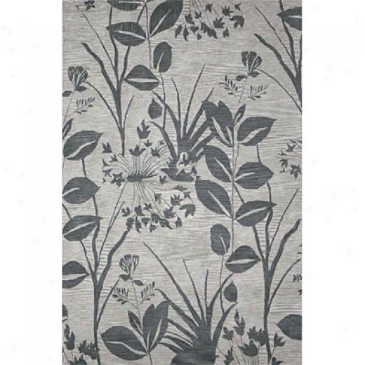 Rizzy Rugs Floral 3 X 5 Fl-127 Area Rugs