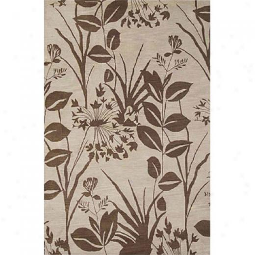 Rizzy Rugs Floral 3 X 8 Fl-125 Area Rugs