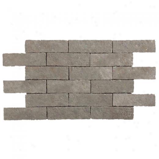 Rock & Rock Montana Brick Mosaic Gris Tile & Stone