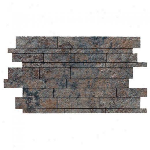 Rock & Rock Natural Link Mosaic Antracita Tile & Stone