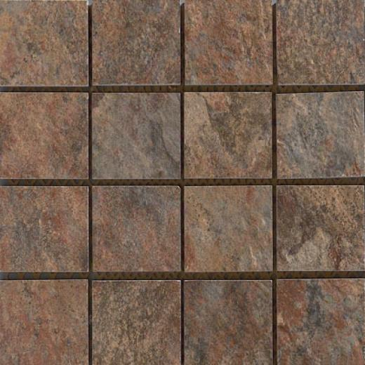 Rock & Rock Natural Inlaid Fuego Tile & Stone