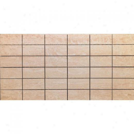 Rock & Rock Travertino Combi Mosaic Crema Tile & Stone