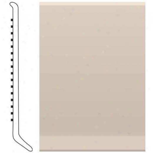 Roppe Cove Base 4 Inch Ivory Vinyl Flooring