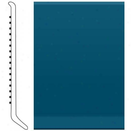 Roppe Cove Base 6 Inch Blue Vinyl Flooring