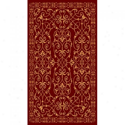 Rug One Imports Matrix 8 X 11 Cherry Area Rugs