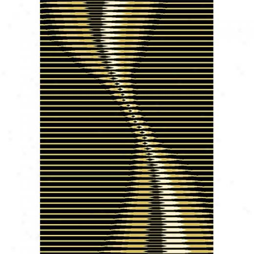 Rug One Imports New Wave 10 X 13 Blaack Area Rugs