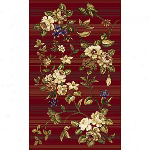 Rug One Imports Panacea 7 X 10 Red Area Rugs