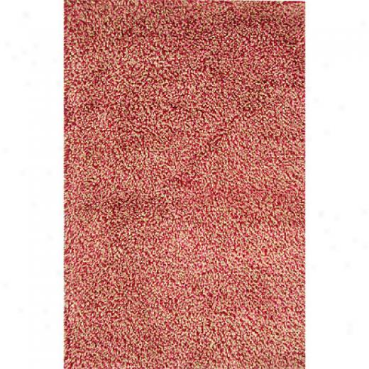 Rug Ond Imports Retro 5 X 7 Red Area Rugs