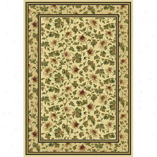 Rug One Imports Royal Elegaance 8 X 11 Cream Yard Rugs